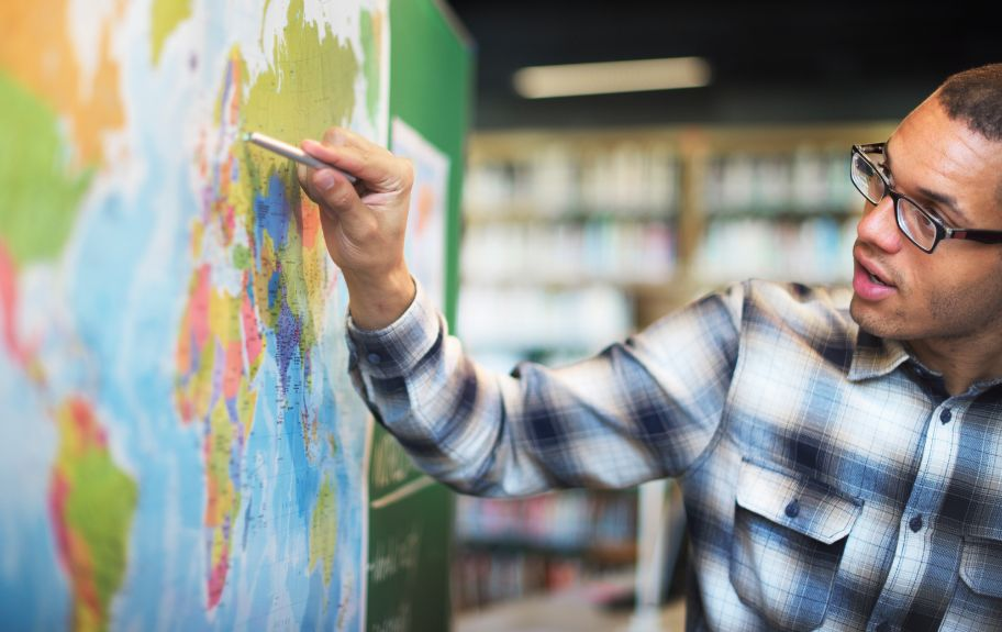 Student Learning Geography