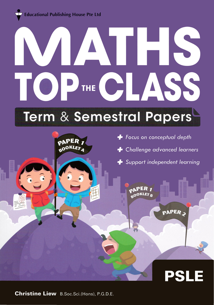 Helpful PSLE Maths assessment book for practice
