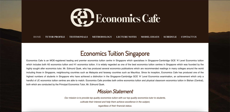 Economics Cafe Economics Tuition