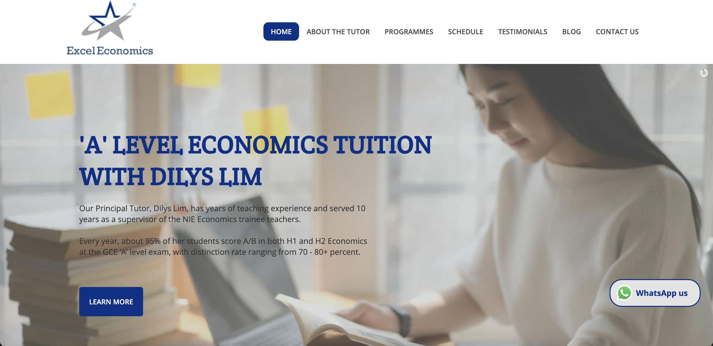 Excel Economics Economics Tuition