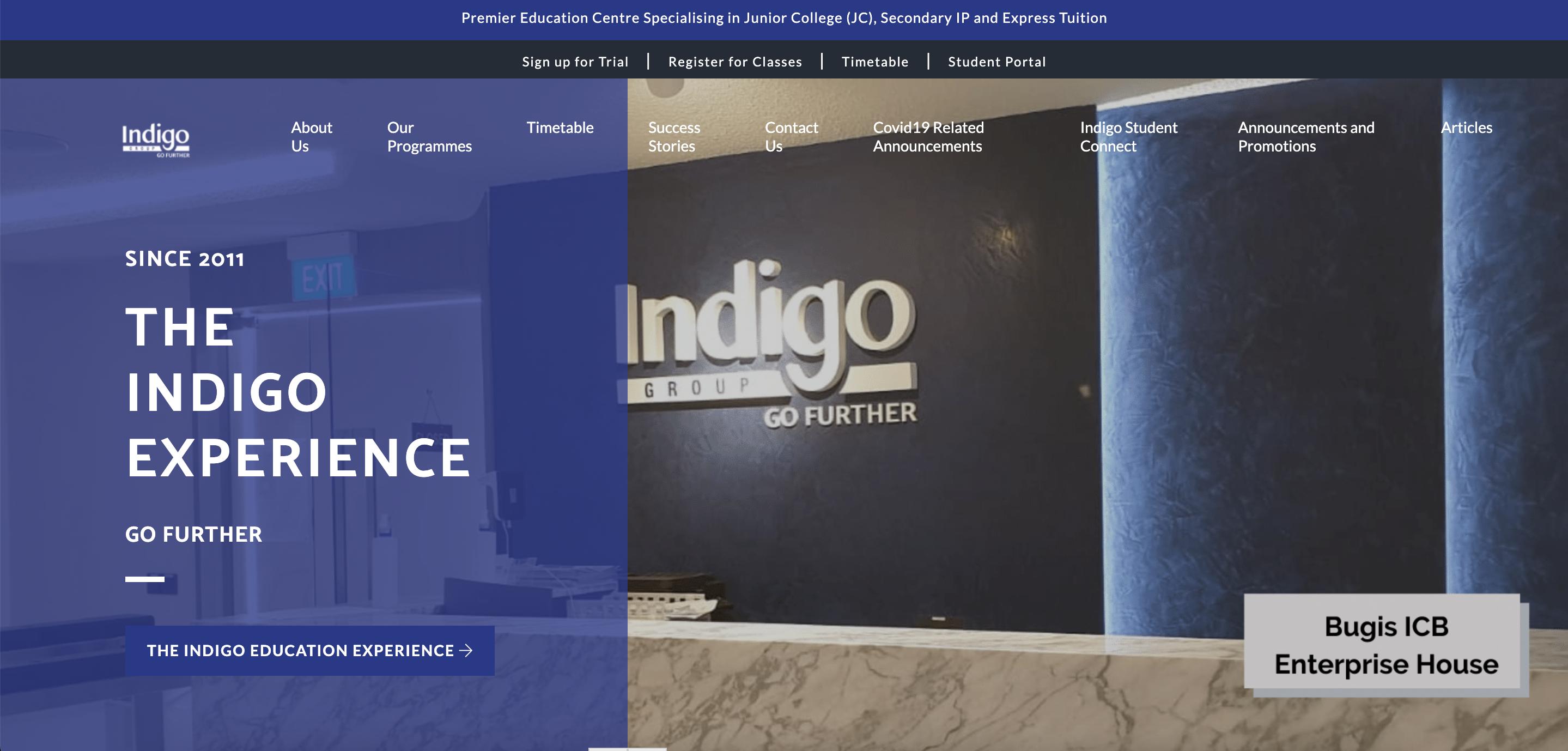 Indigo Group Economics Tuition