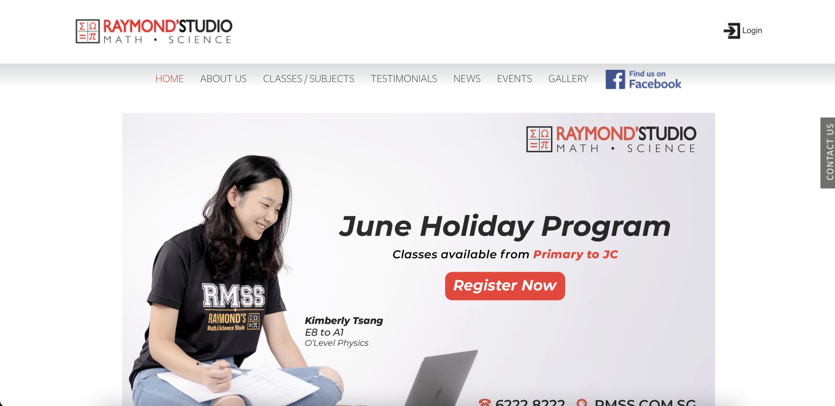 Raymond's Studio Economics Tuition