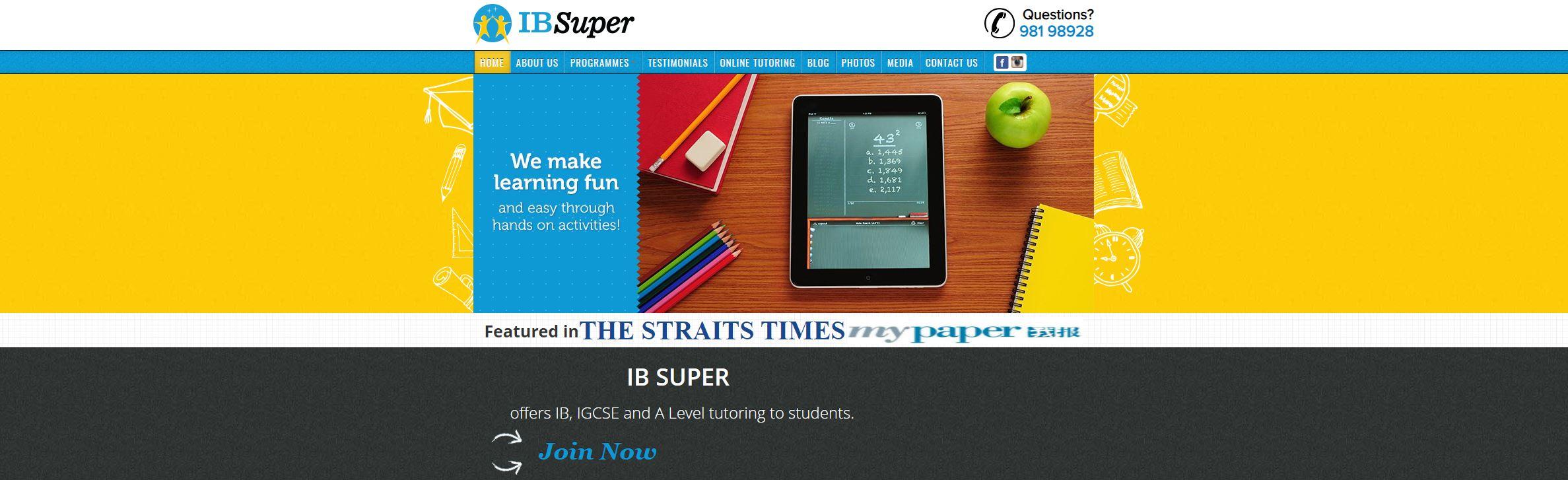 IB Super IB Tuition