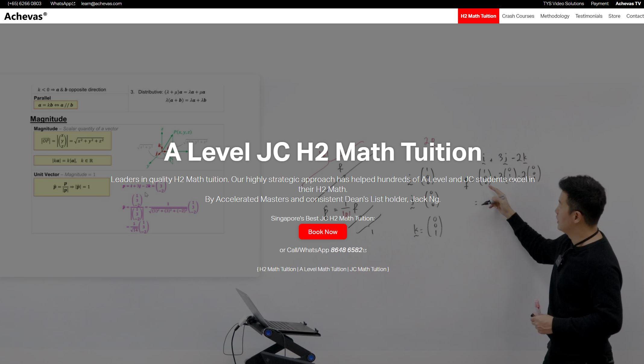 Achevas JC Tuition