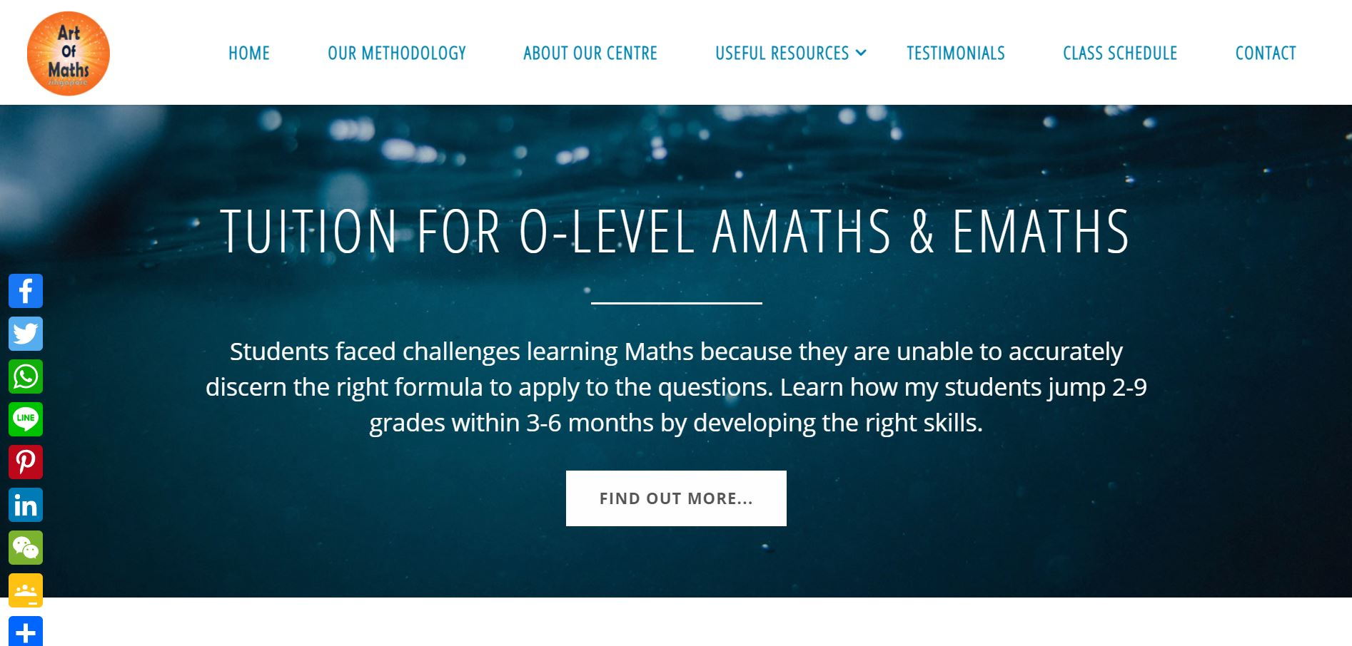 Art of Maths Secondary School Tuition