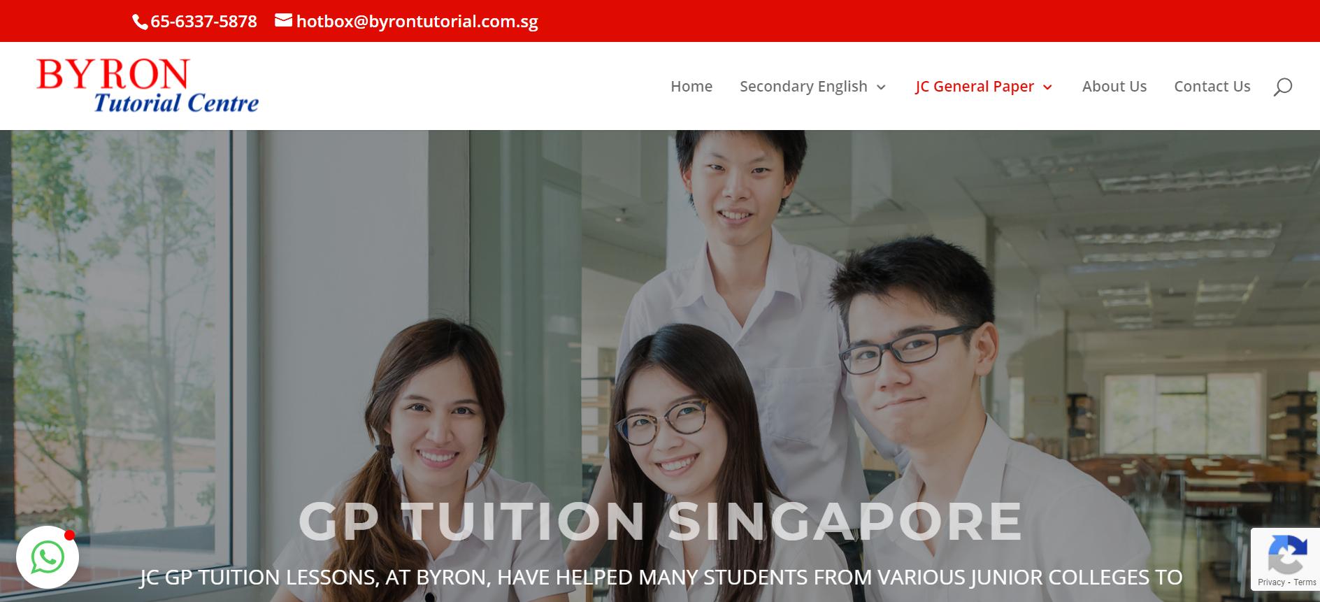 Byron Tutorial Centre GP Tuition