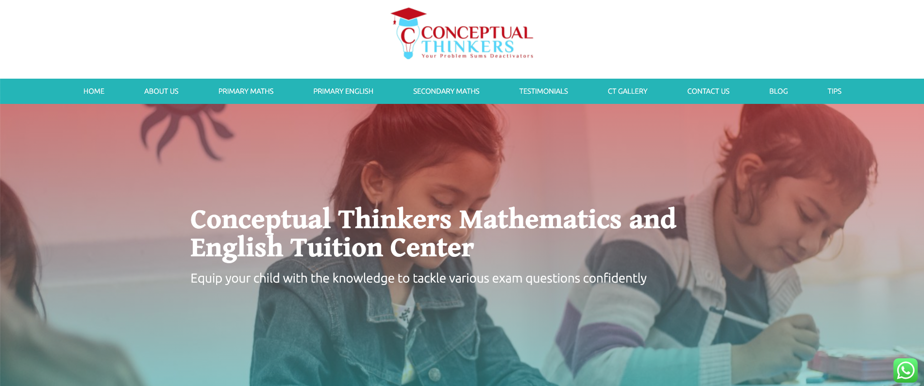 Conceptual Thinkers Primary School Tuition