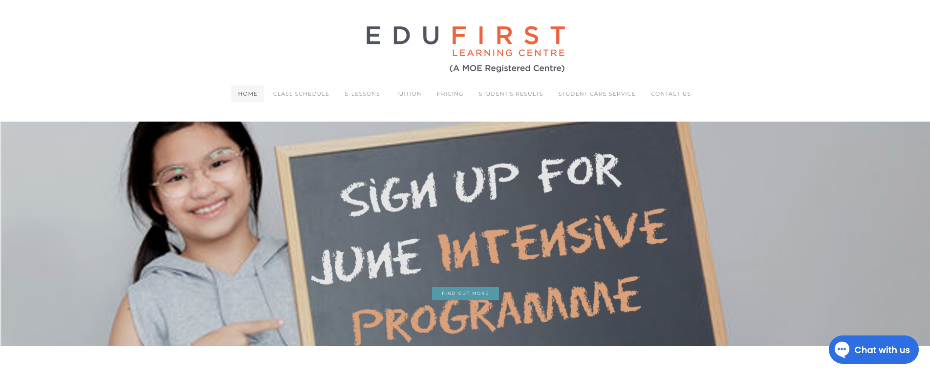 EduFirst Learning Centre Primary School Tuition