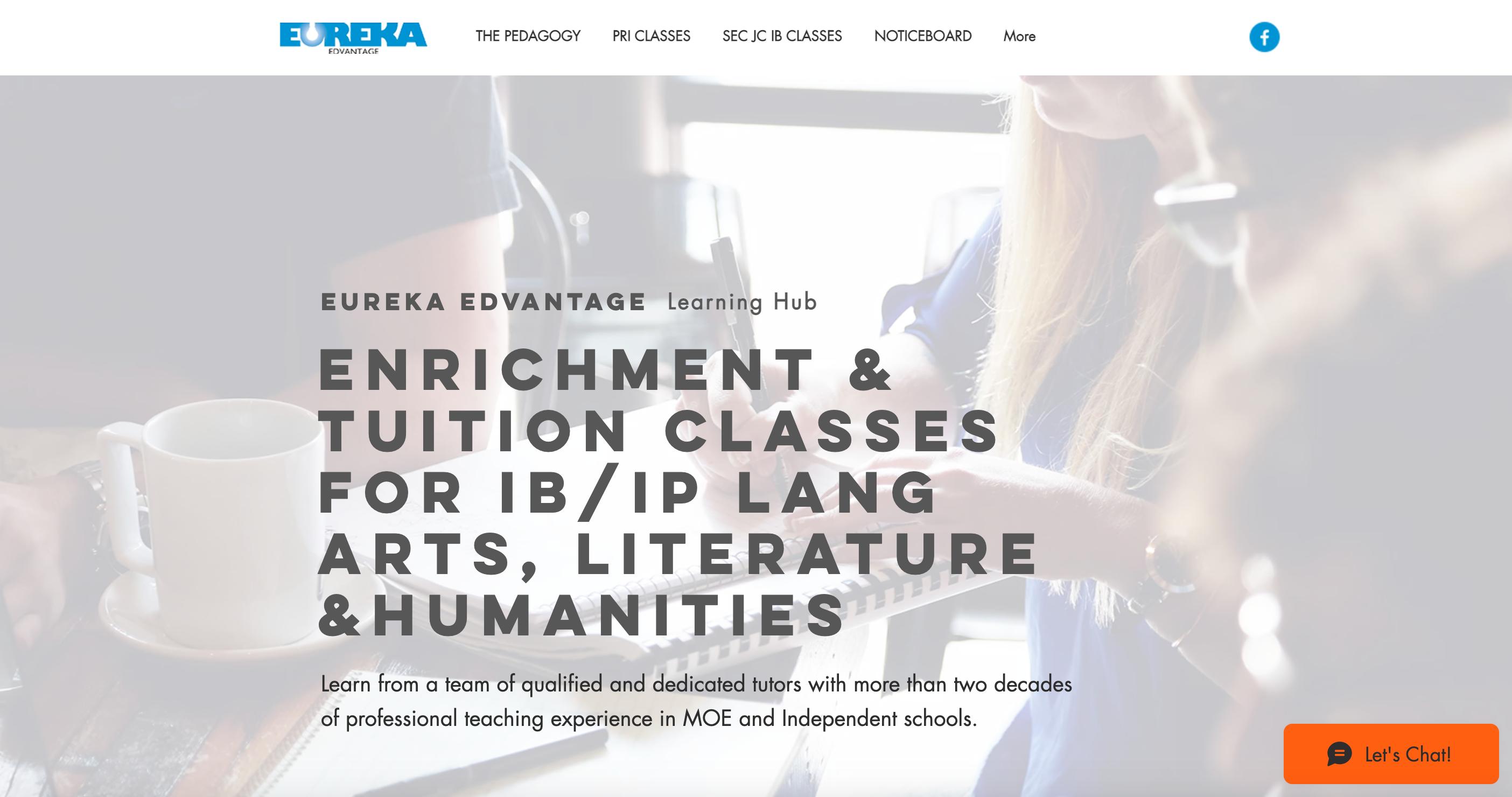 Eureka Edvantage Learning Hub IP Tuition