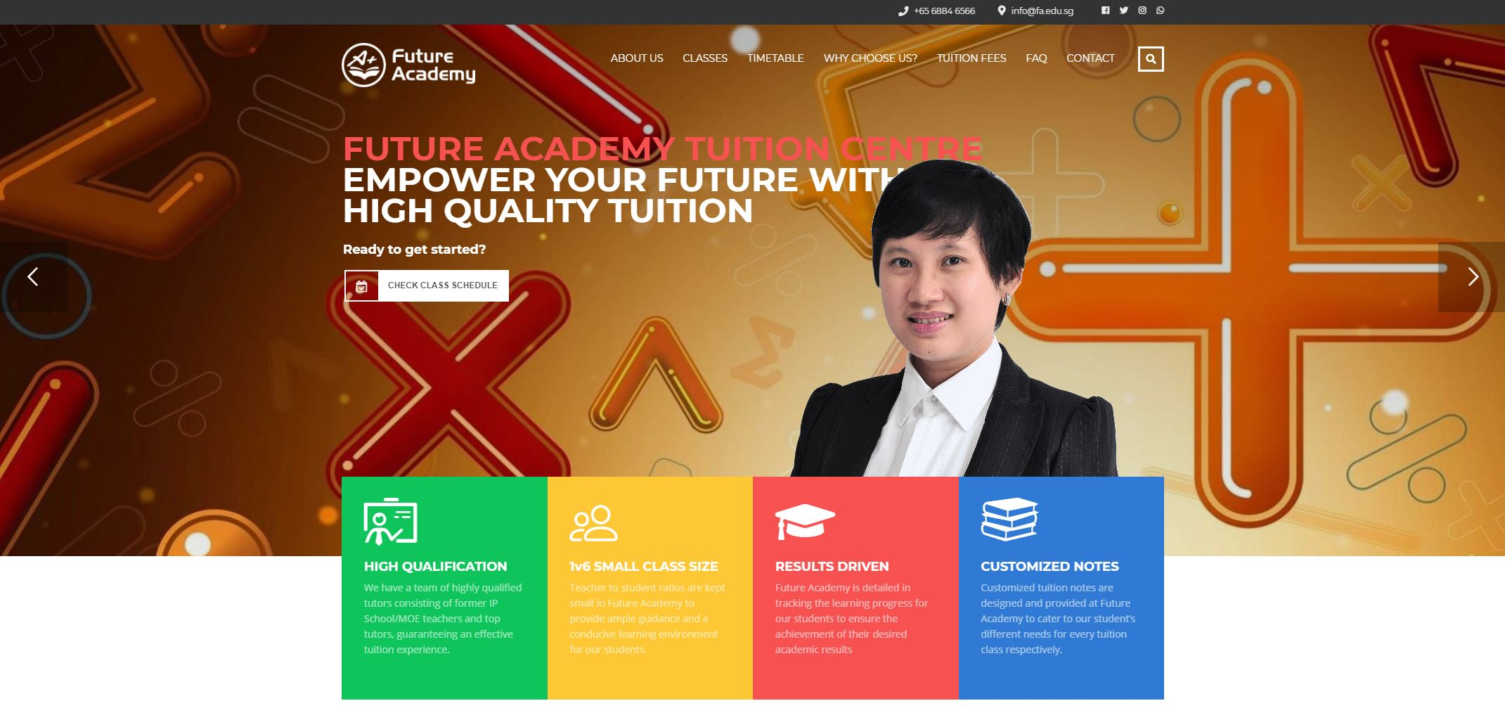 Future Academy JC Tuition