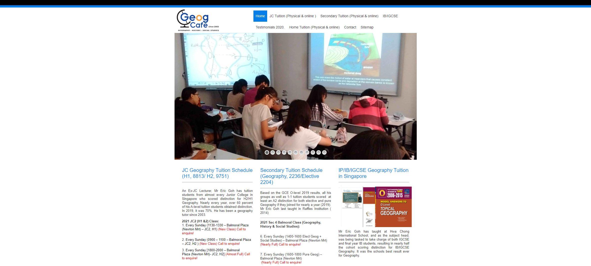 GeogCafe IB Tuition