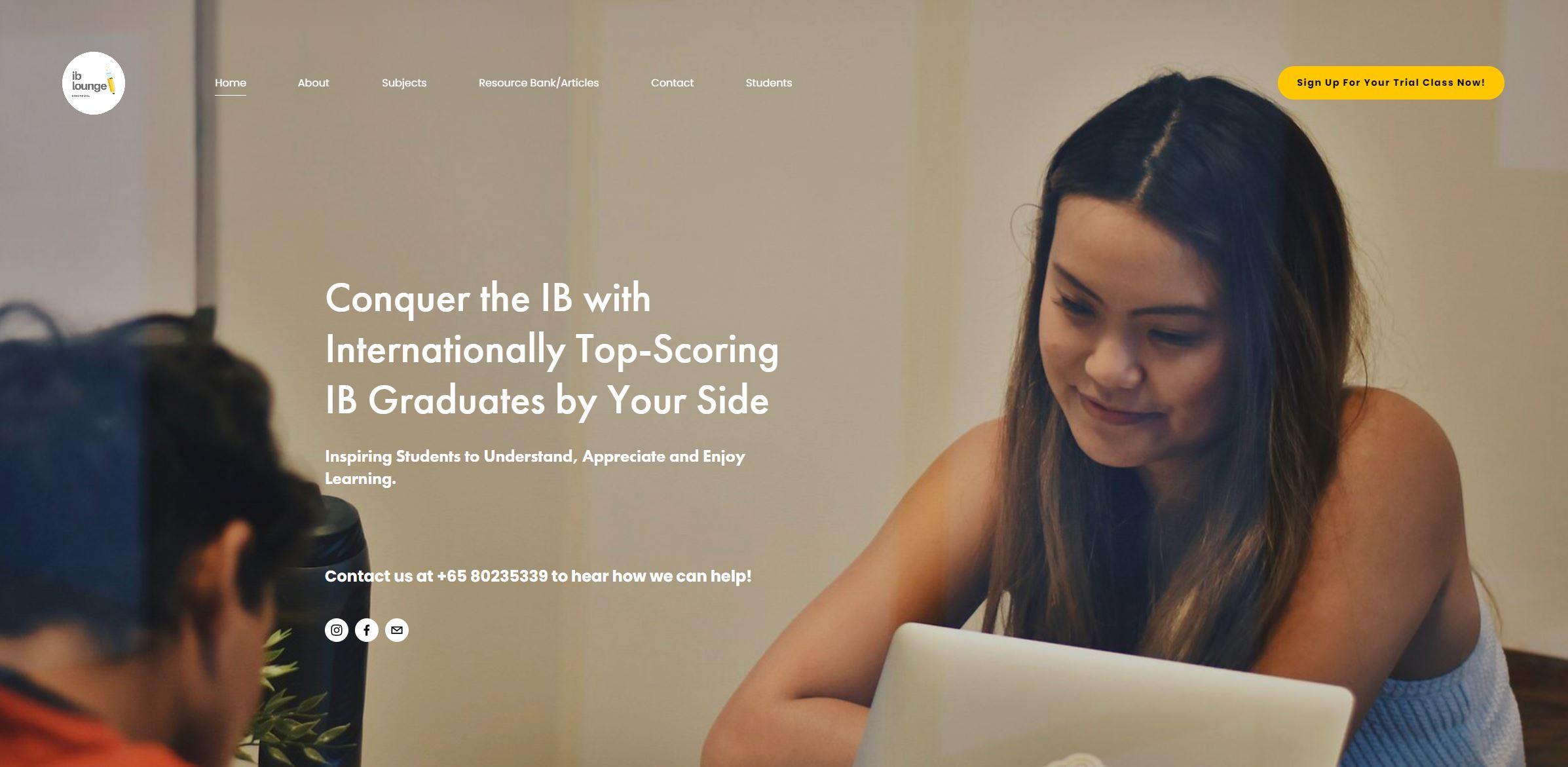 IB Lounge IB Tuition