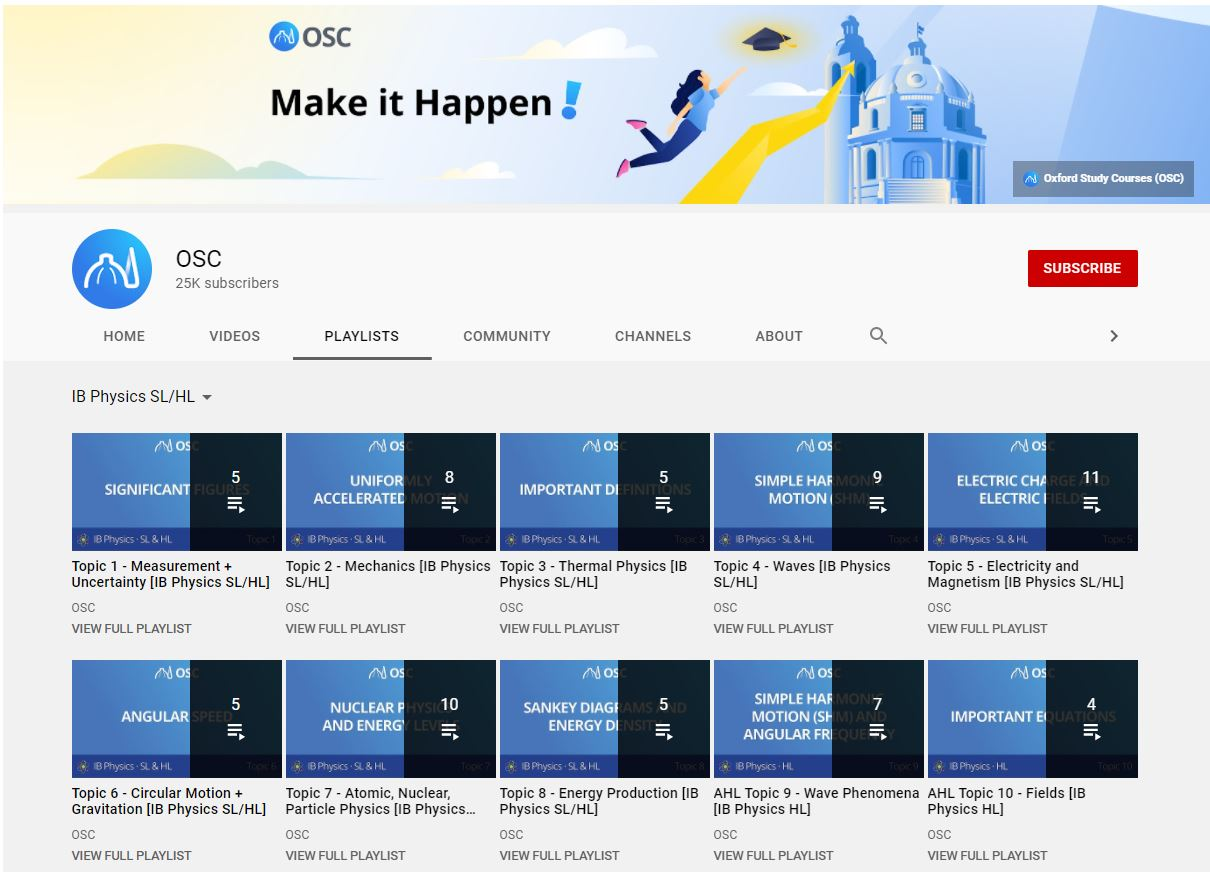 Studynova's IB Physics lecture videos are comprehensive and easy to understand