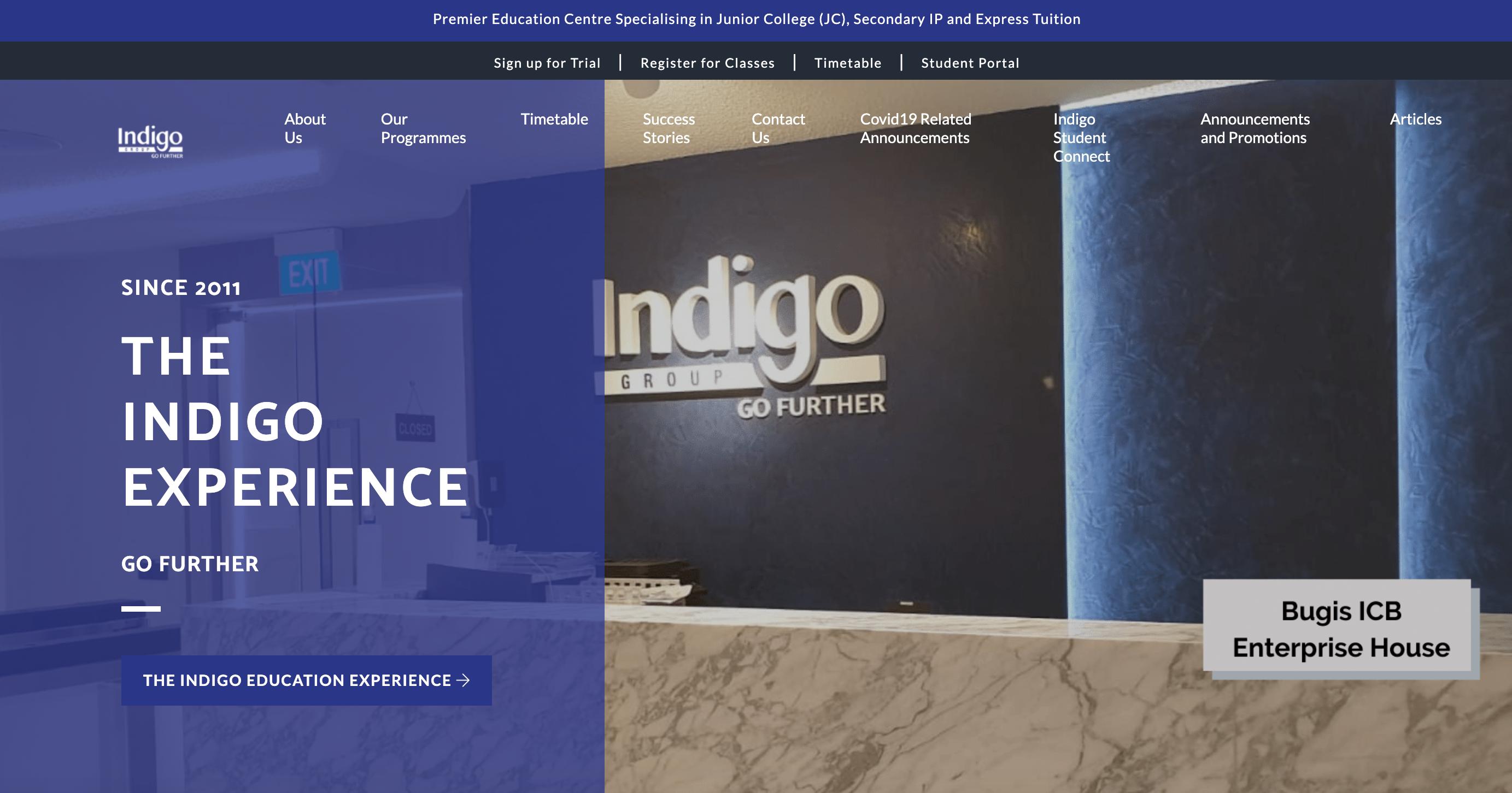 Indigo Education Group IP Tuition