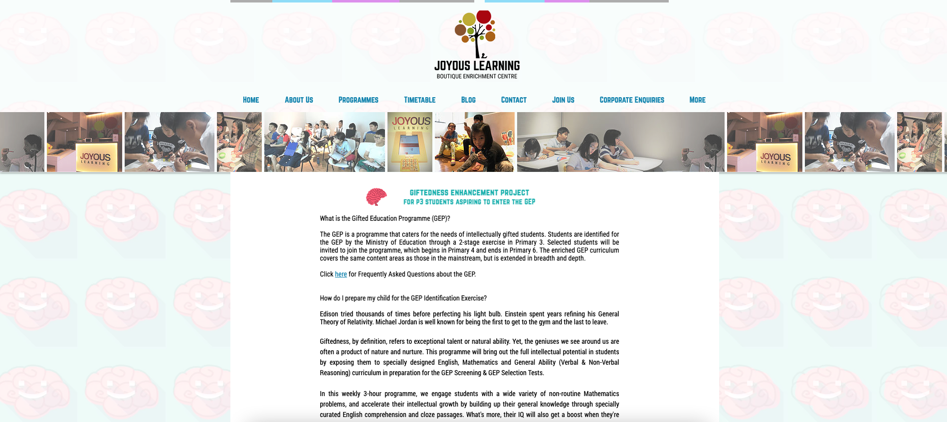 Joyous Learning Primary School Tuition