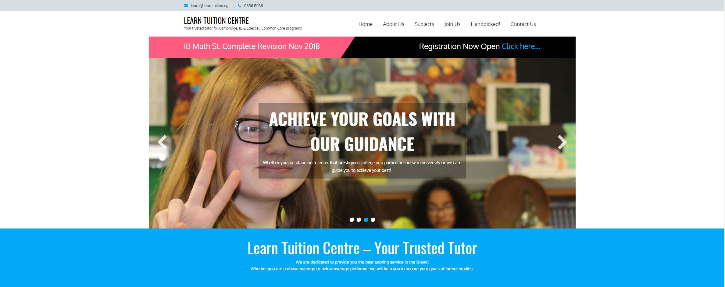 Learn Tuition Centre IB Tuition