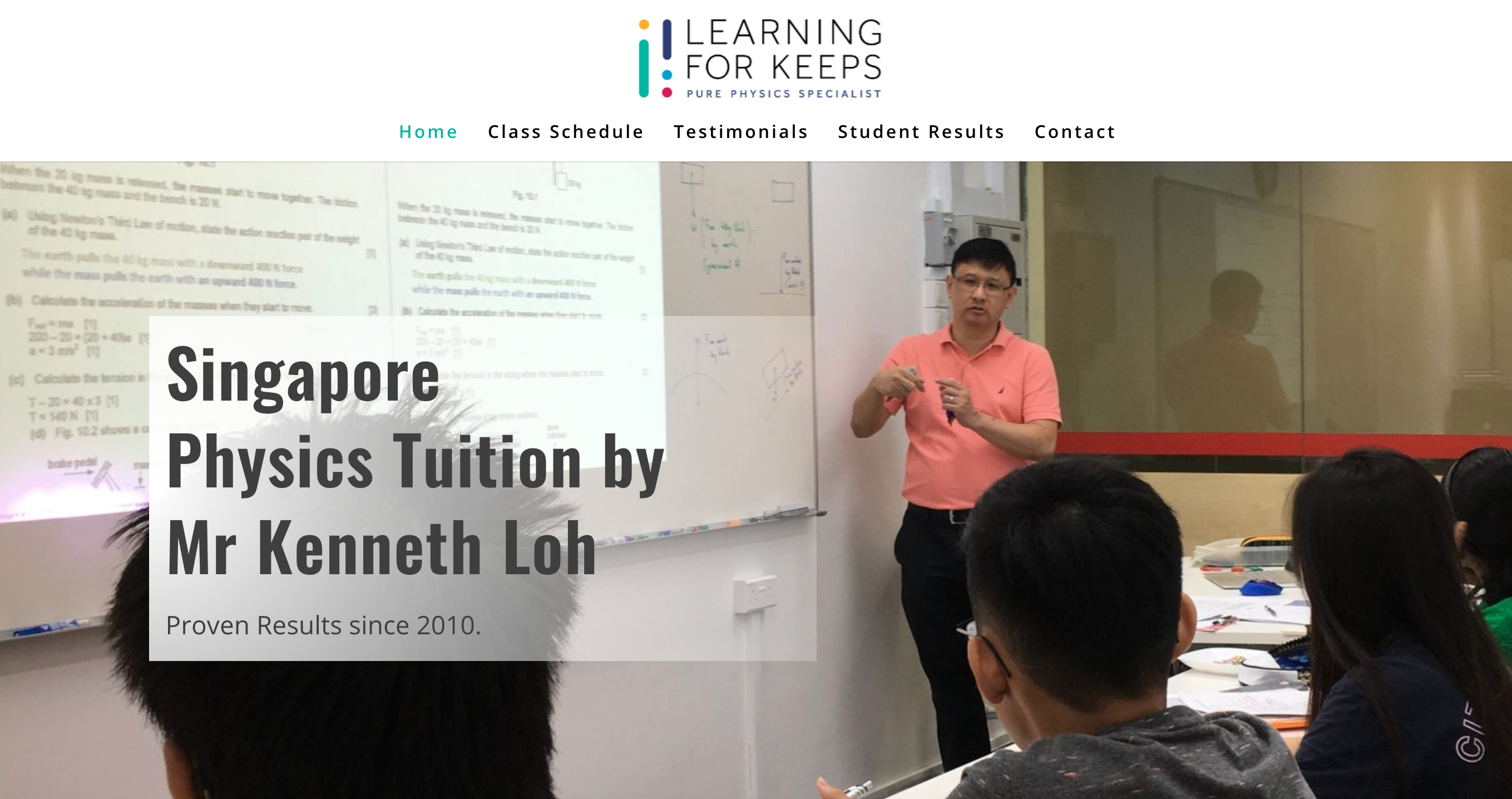 Learning for Keeps Physics Specialisst IP Tuition