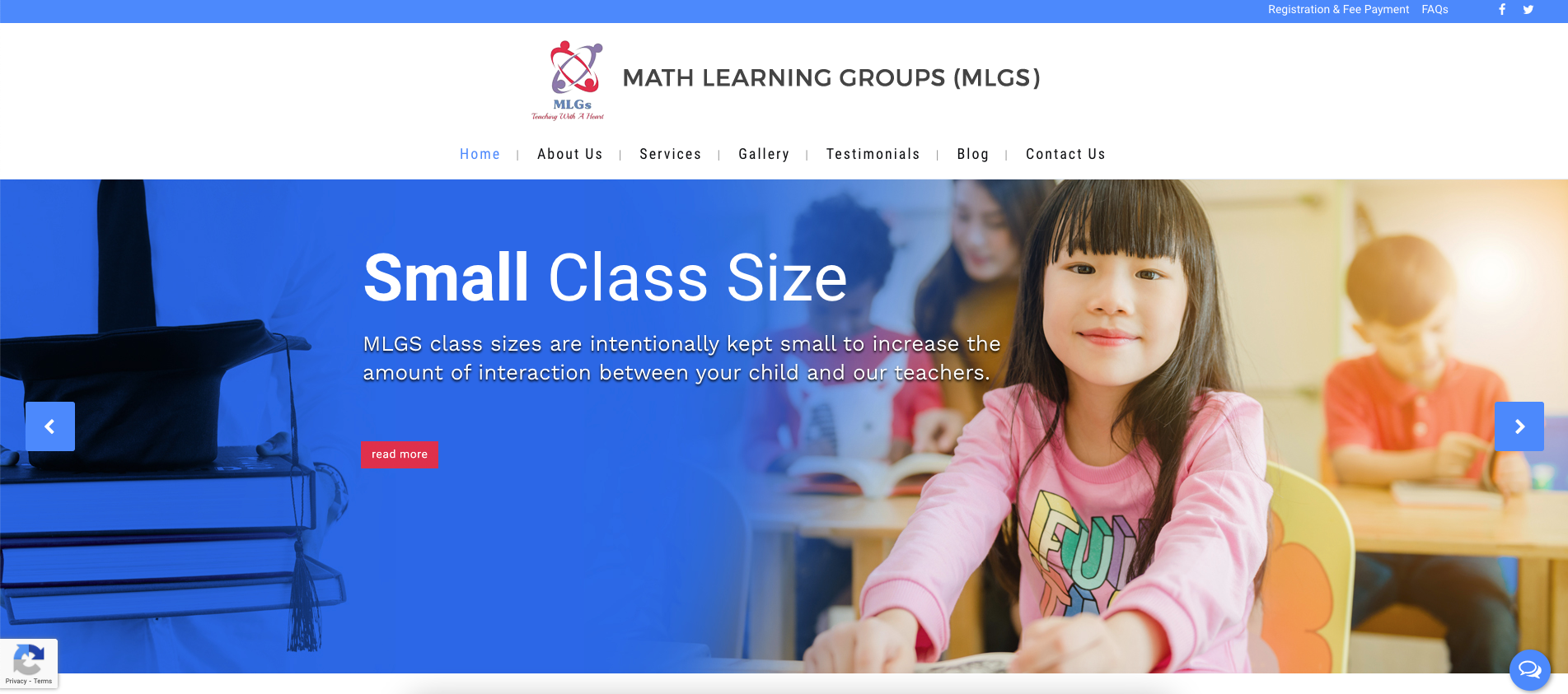Math Learning Groups (MLGS) Primary School Tuition