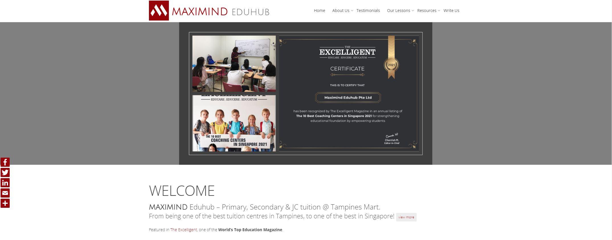 MaxiMind EduHub JC Tuition