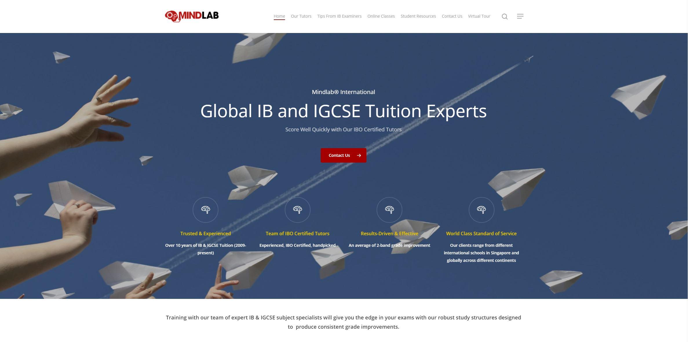 MindLab International IB Tuition