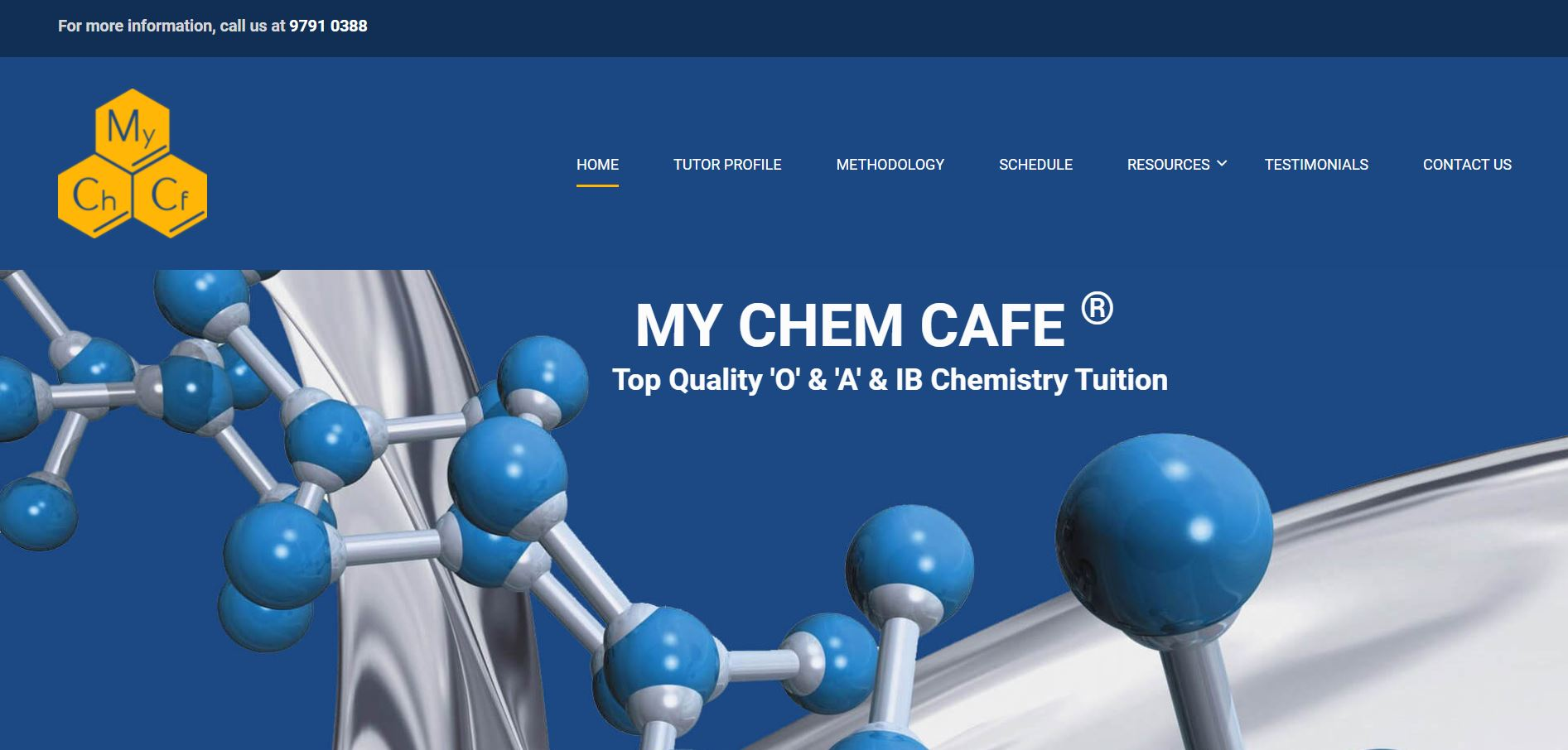 My Chem Cafe Secondary School Tuition