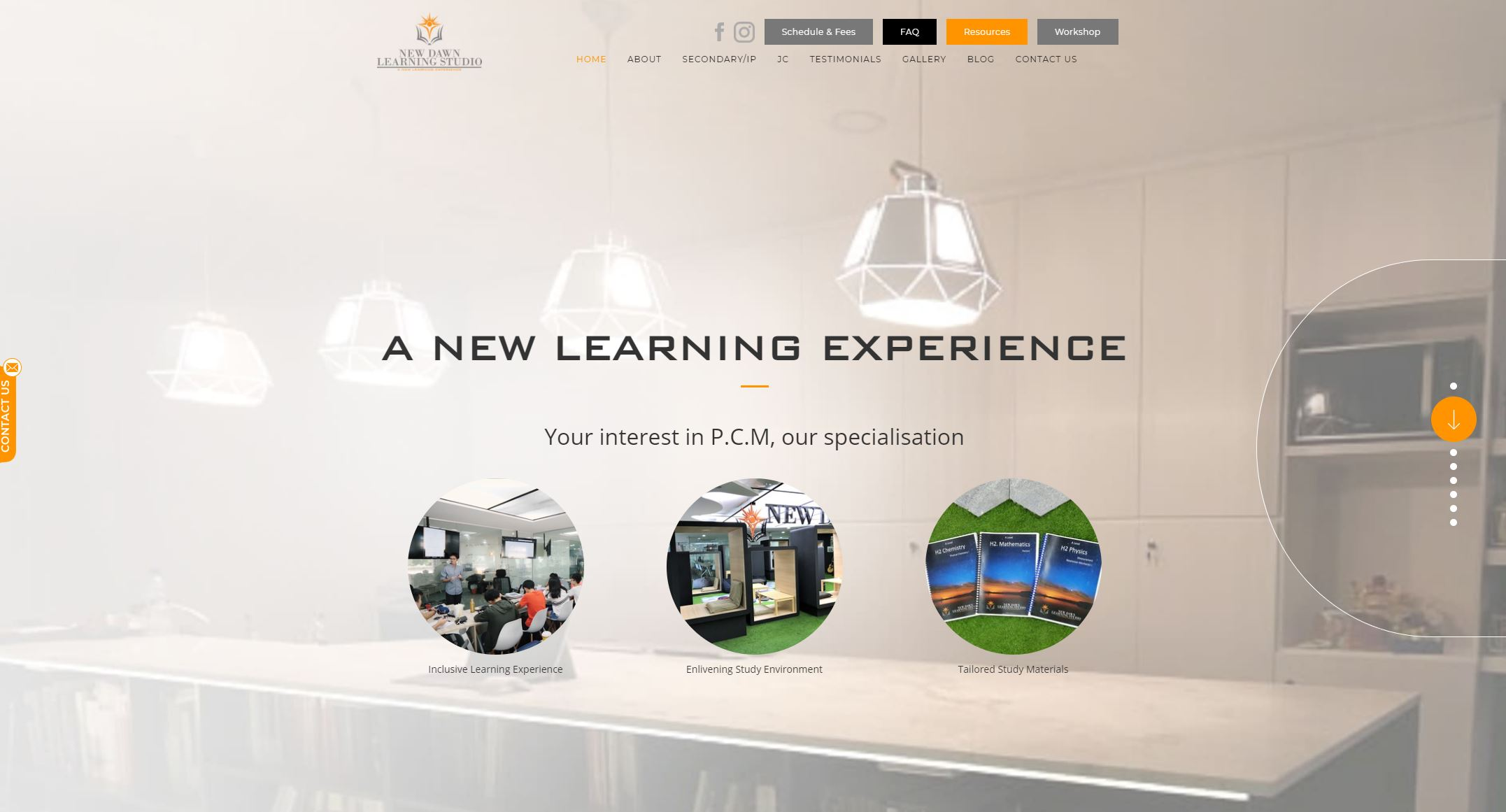 New Dawn Learning Studio JC Tuition