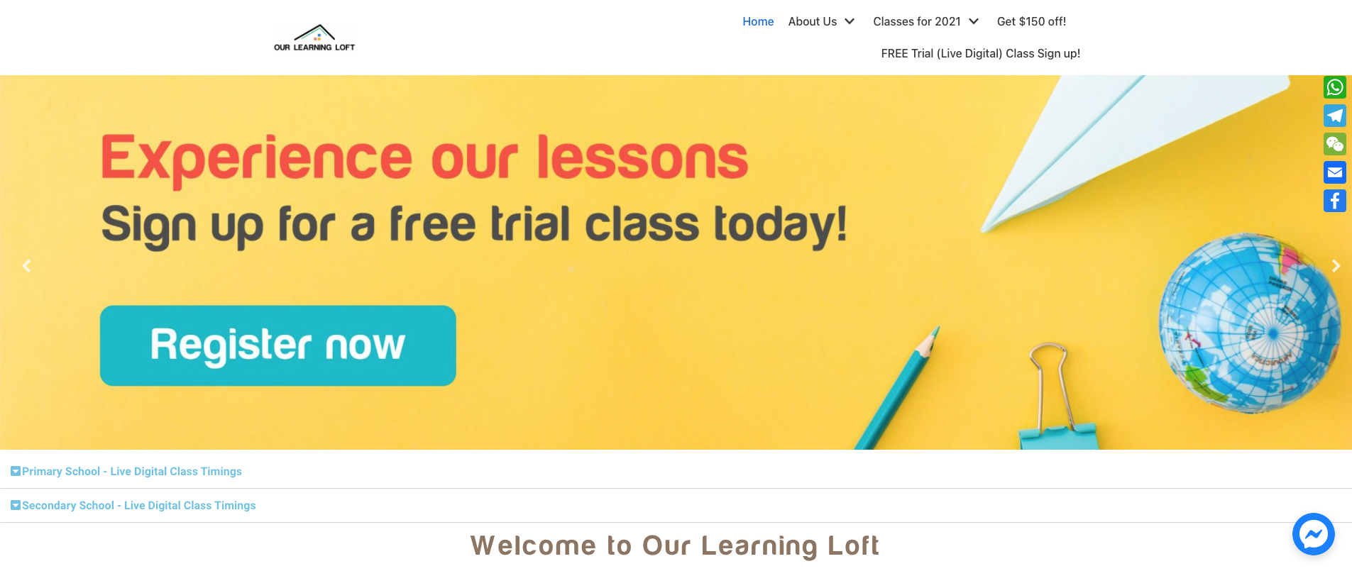 Our Learning Loft Primary School Tuition