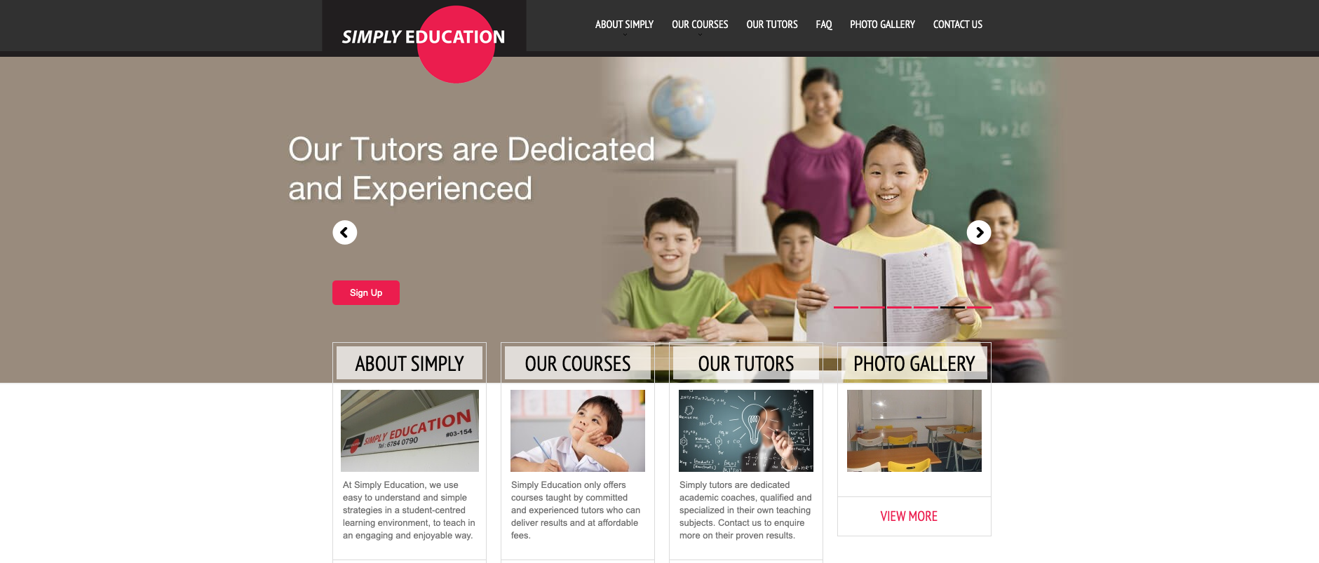 Simply Education Primary School Tuition