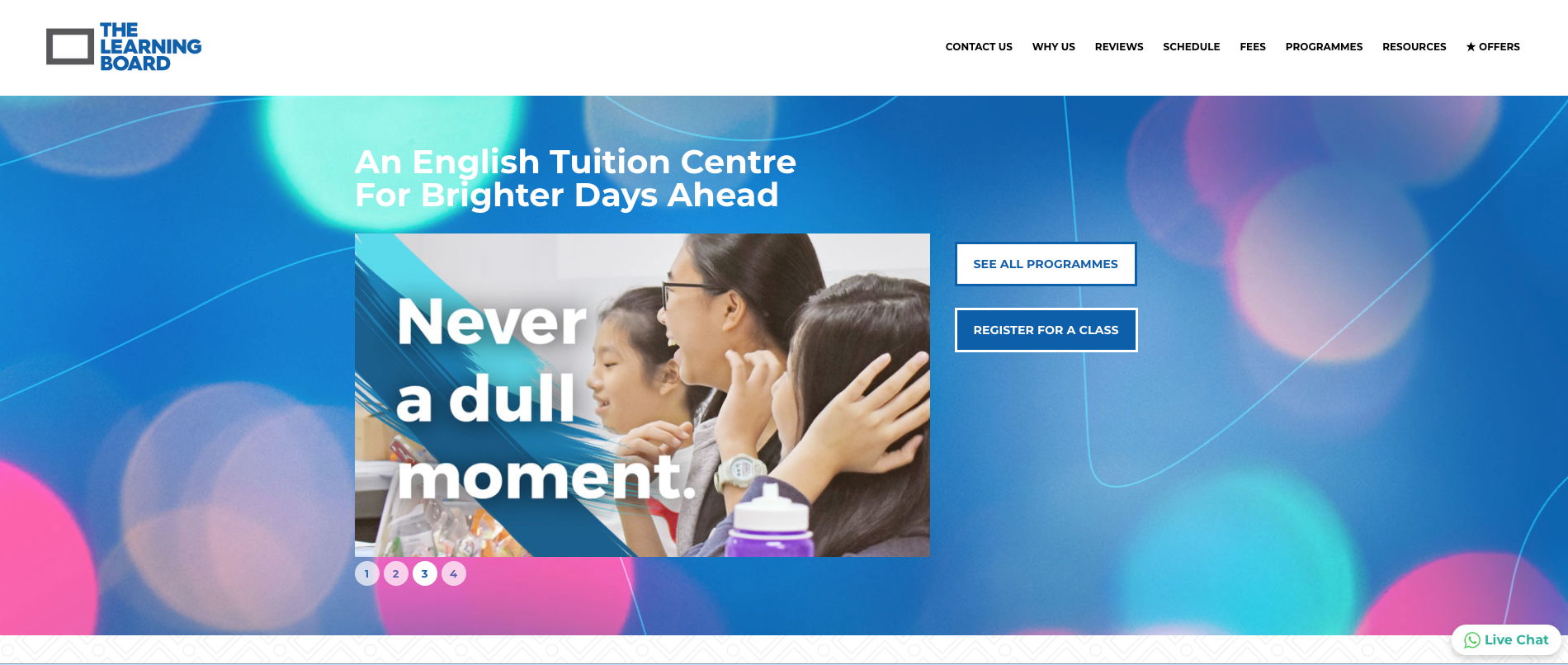 The Learning Board Primary School Tuition