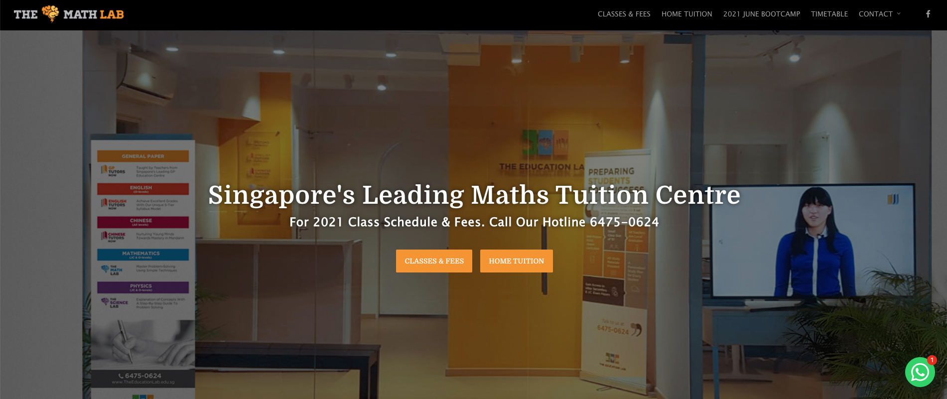The Math Lab Primary School Tuition