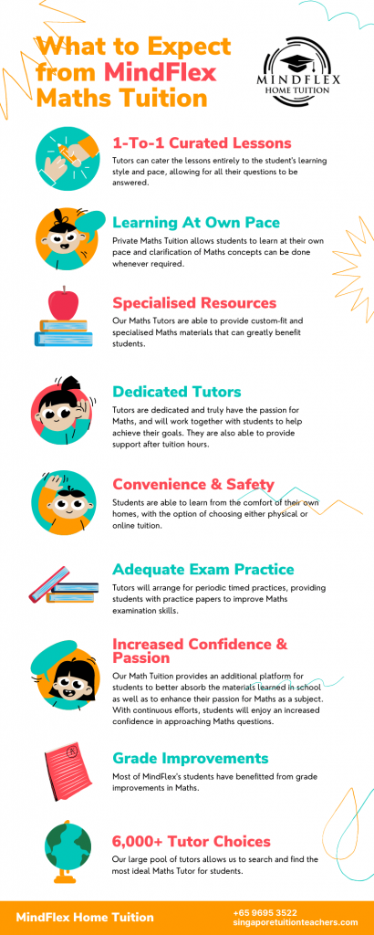 Infographic on What To Expect From MindFlex Maths Tutors