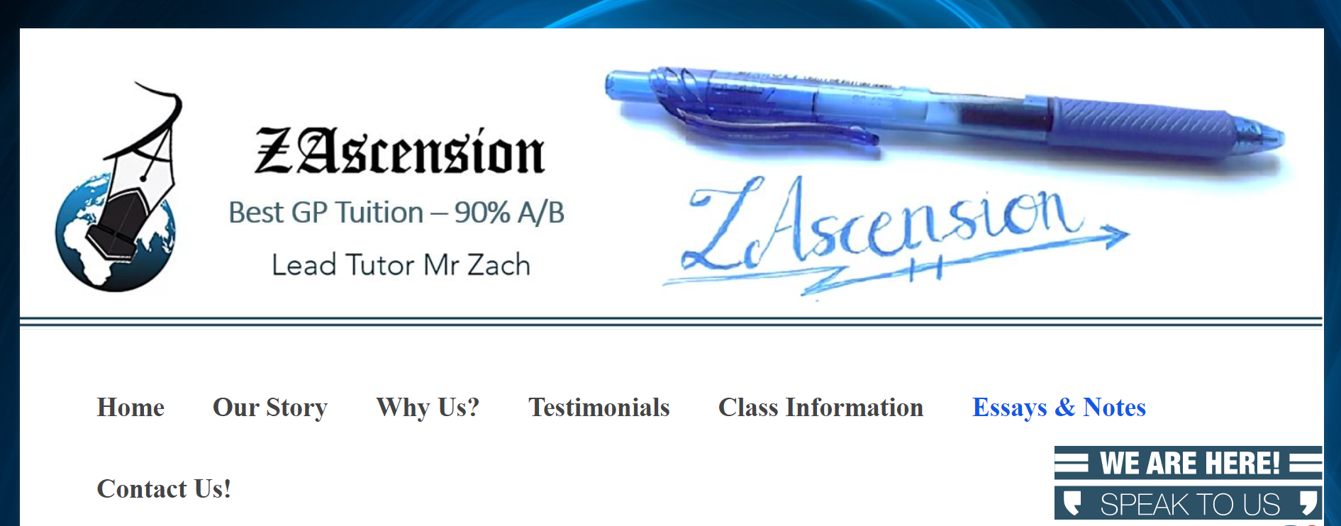 ZAscension GP Tuition