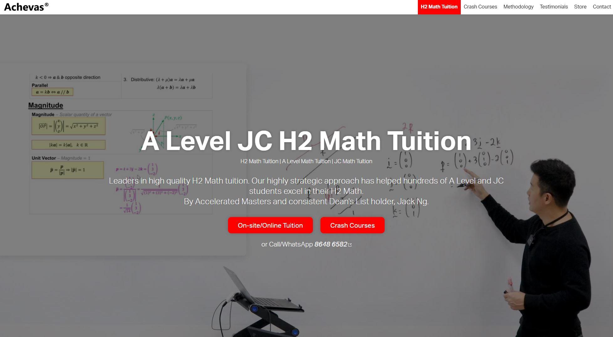 Achevas-Maths-Tuition