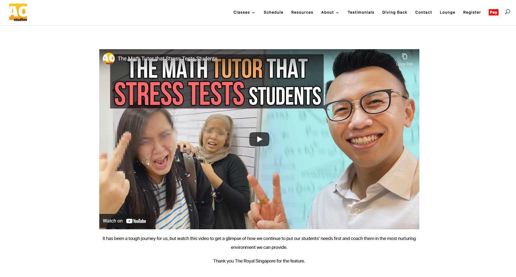 AO-Studies-Maths-Tuition