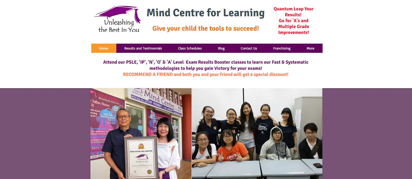 Mind-Centre-Maths-Tuition