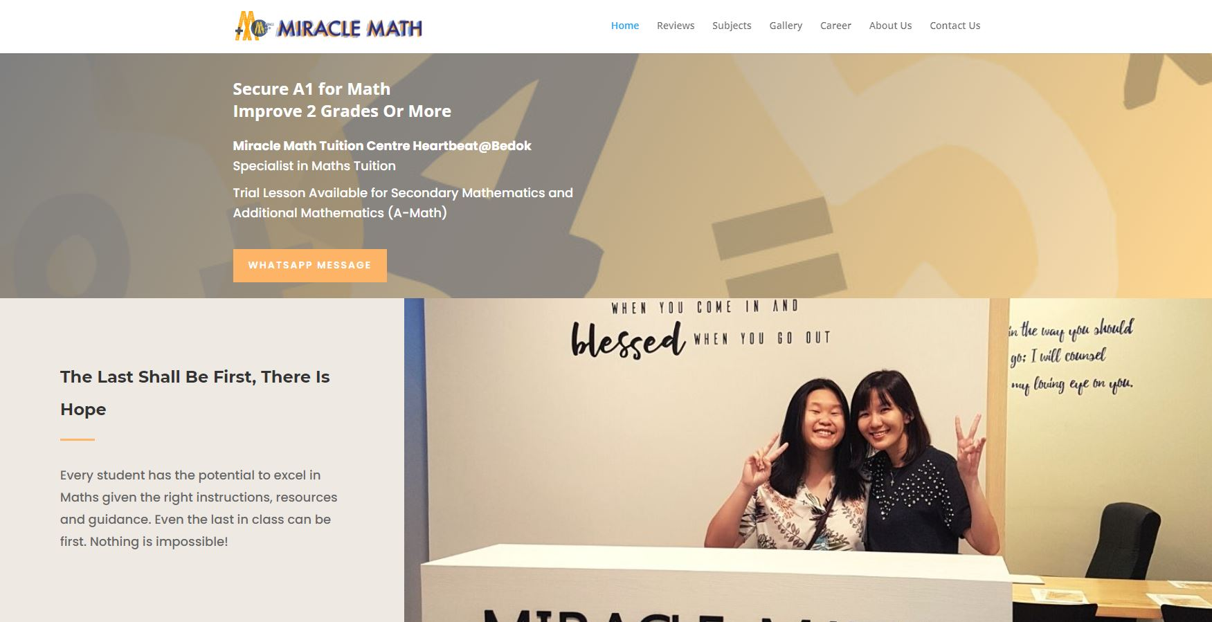 Miracle-Math-Tuition-Centre