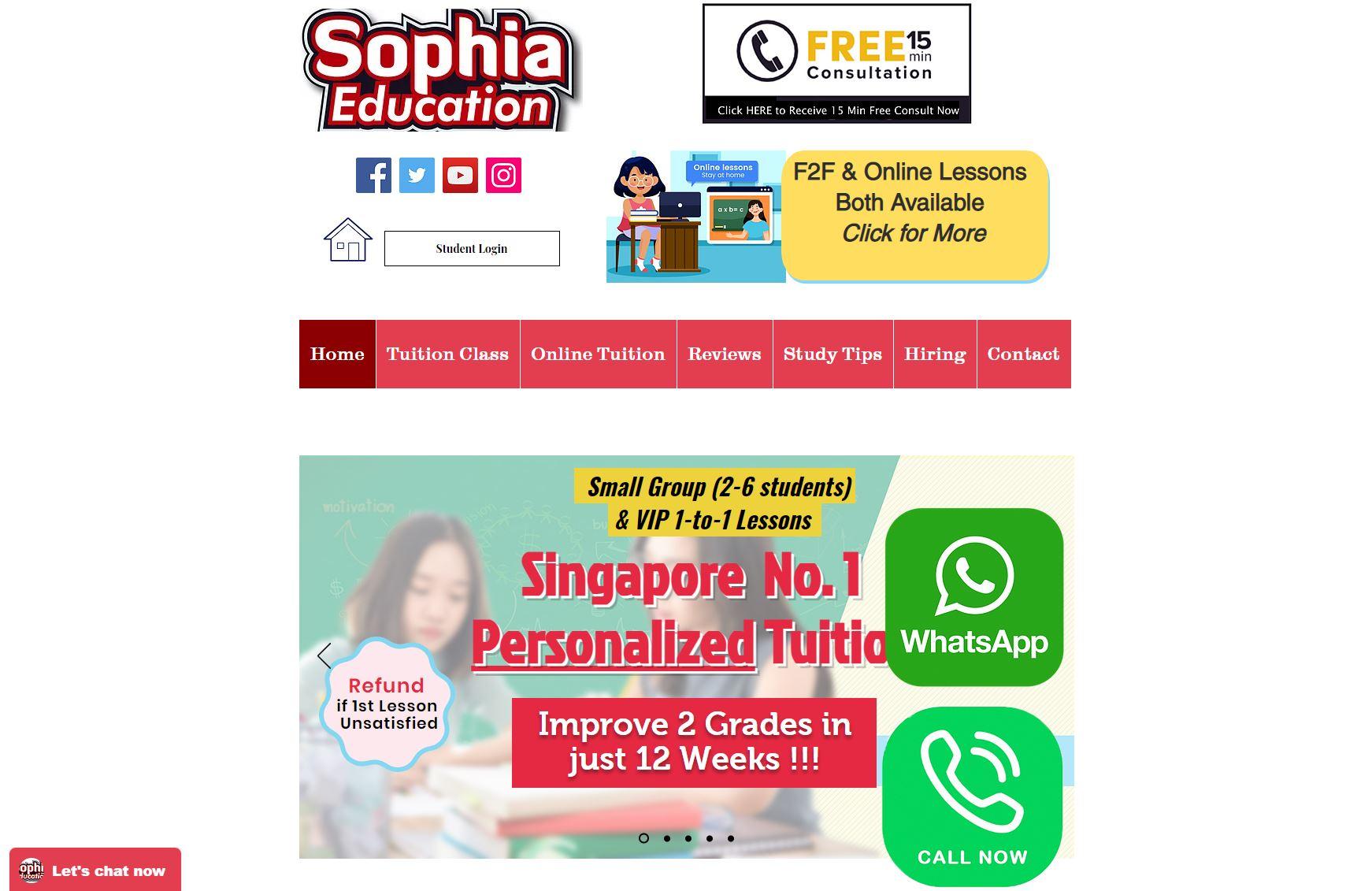 Sophia-Education-Maths-Tuition